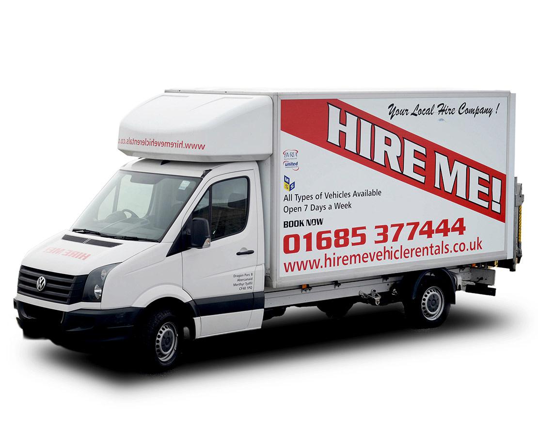 Van Rental Near Me >> Luton Van Hire Hire Me Vehicle Rentals